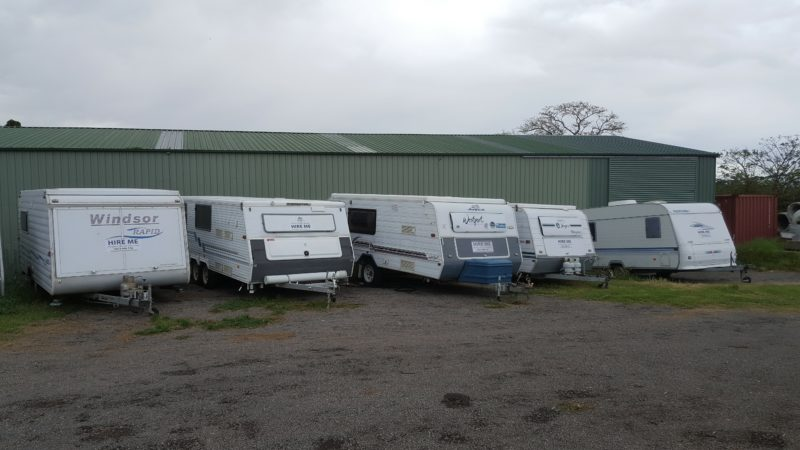 7 #hire Caravans to choose from