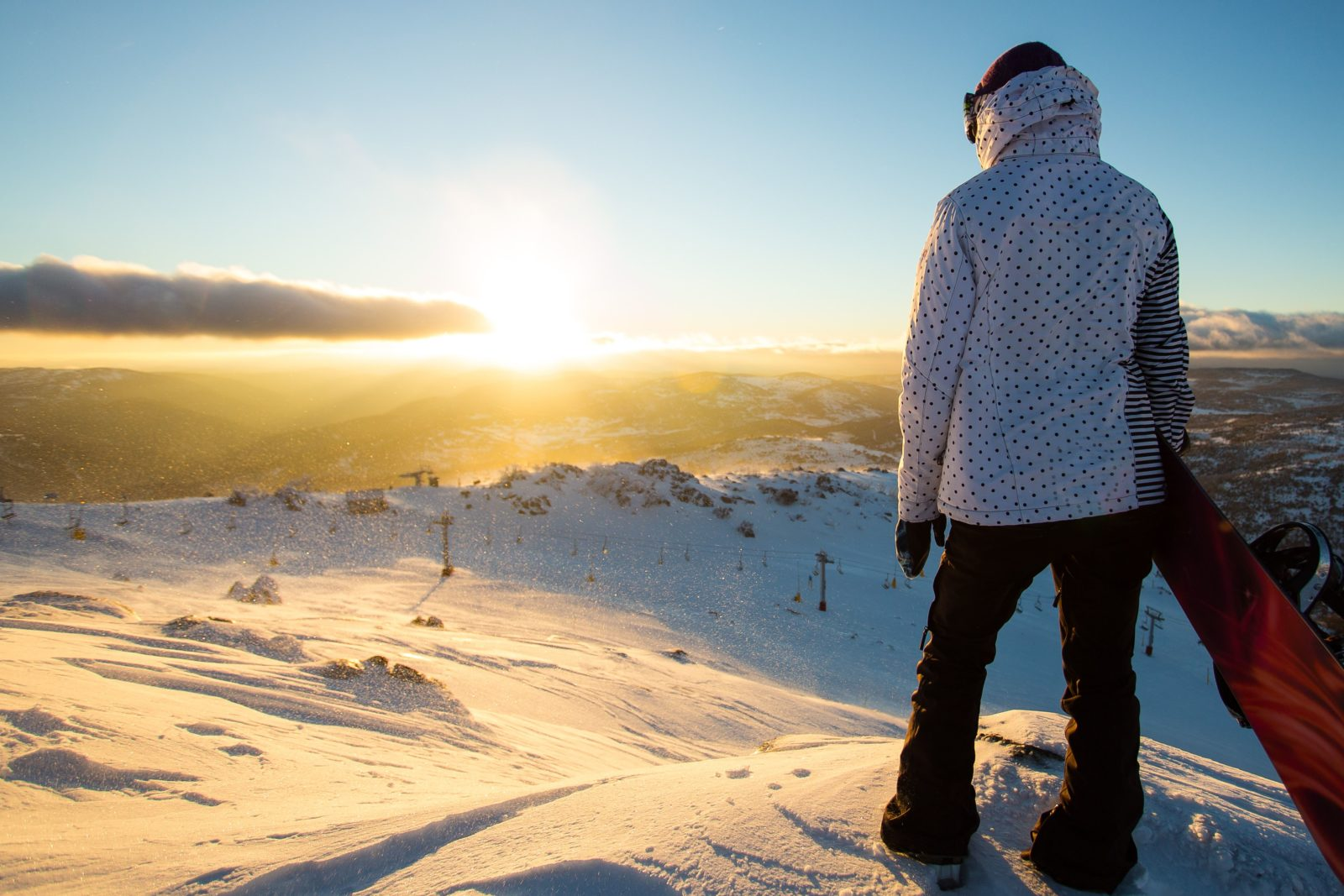 Nothing beats getting to Perisher early on a perfect winter morning!