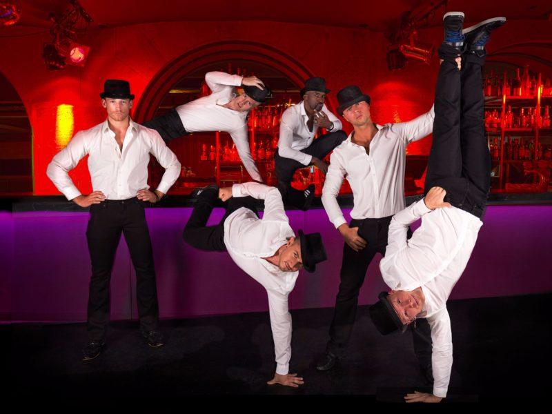 Pimp cabaret performers