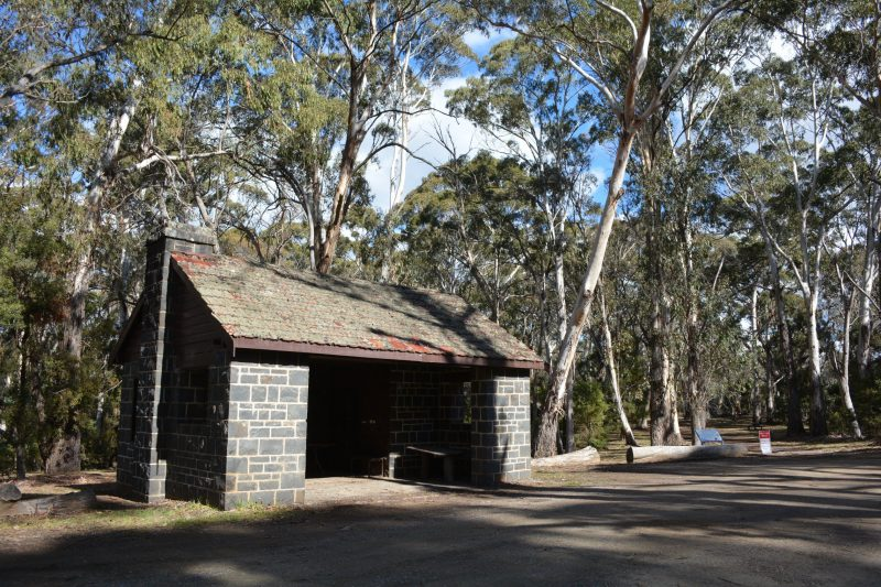 Hut at Pinnacle Reserve