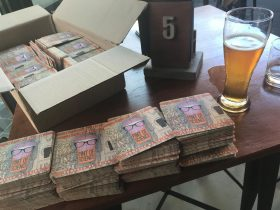 Beer and PoS coasters