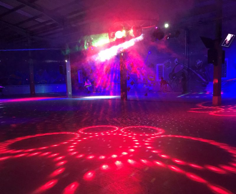 Disco Floor ready for action