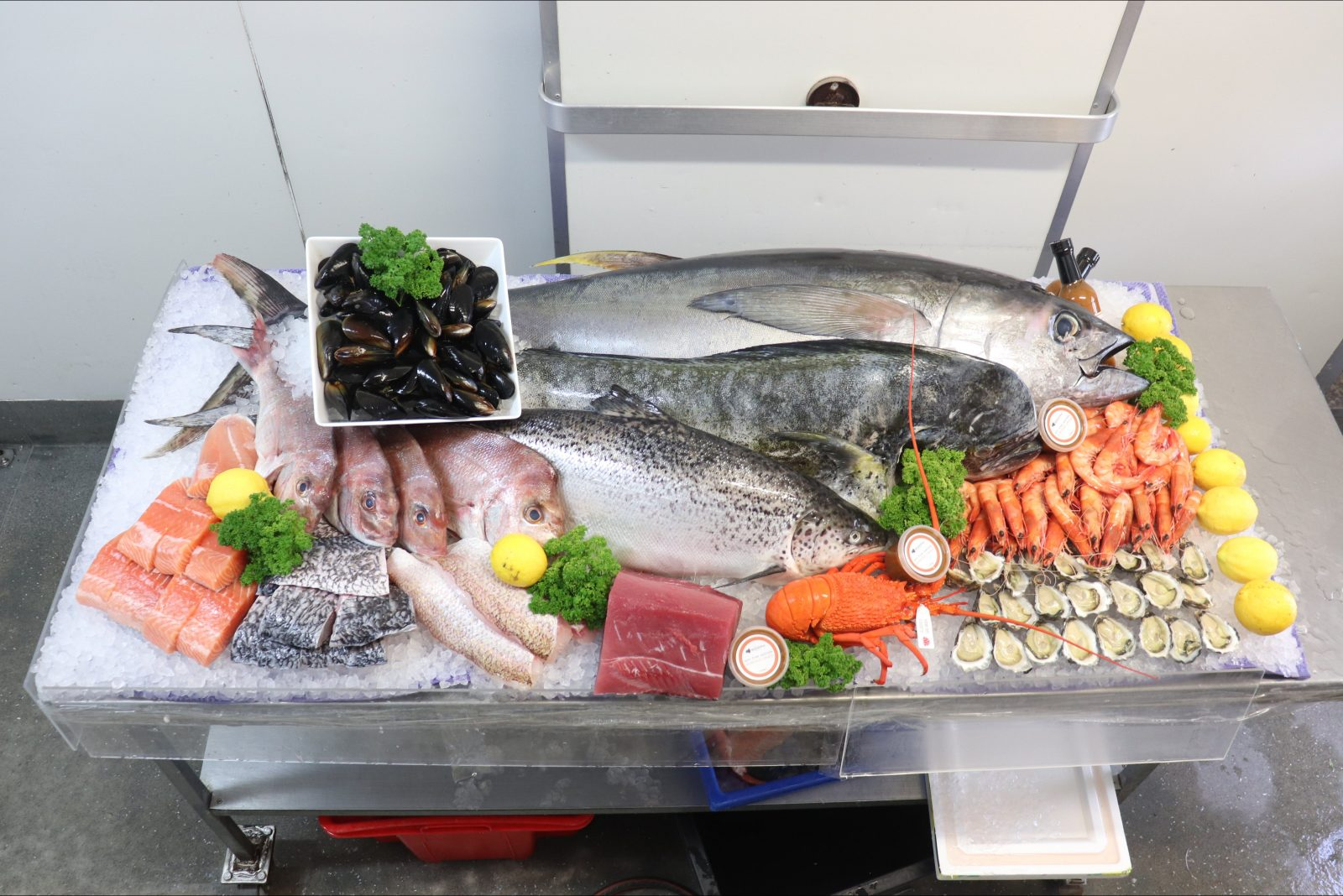 Fresh quality seafood from local fishermen
