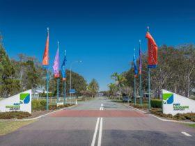 Port Macquarie Airport Entrance