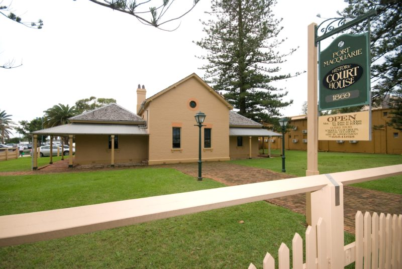 Port Macquarie Historic Courthouse