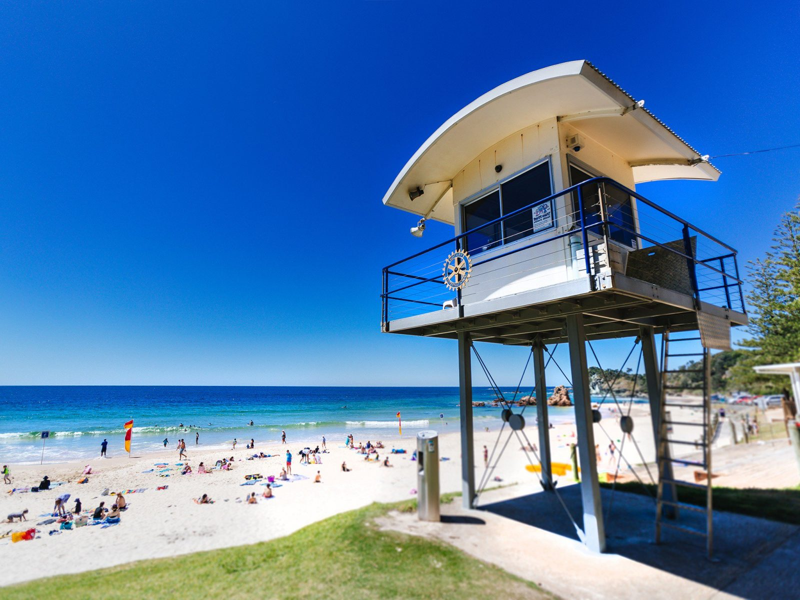 Port Macquarie Surf Life Saving Watch Tower