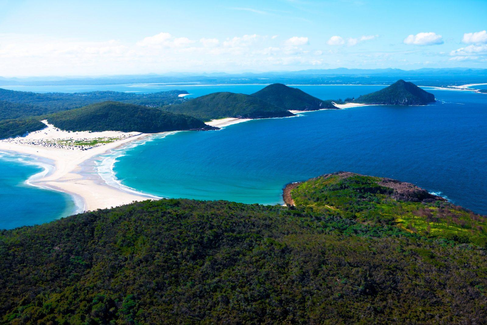 Aerial Of Port Stephens