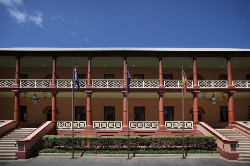 Parliament House of NSW, Sydney