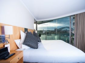 Two bedroom harbour view suite
