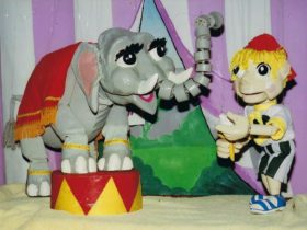 Characters from Jeral Puppets