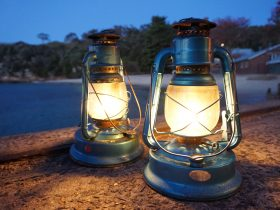 Lanterns on Quarantine Wharf