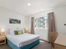 The One Bedroom Apartments are fully self-contained