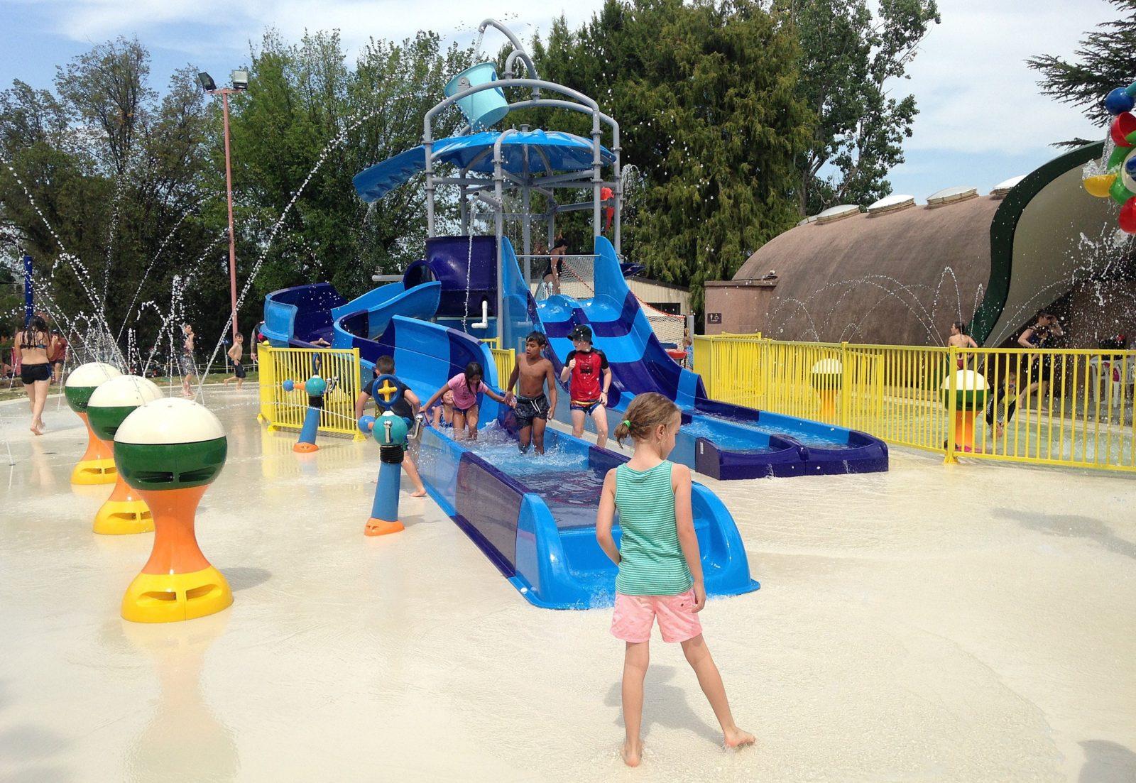 Queanbeyan Aquatic Centre Pool Kids Splash Park