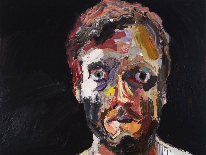 Self-portrait after Afghanistan