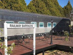 Railway Barracks accommodation