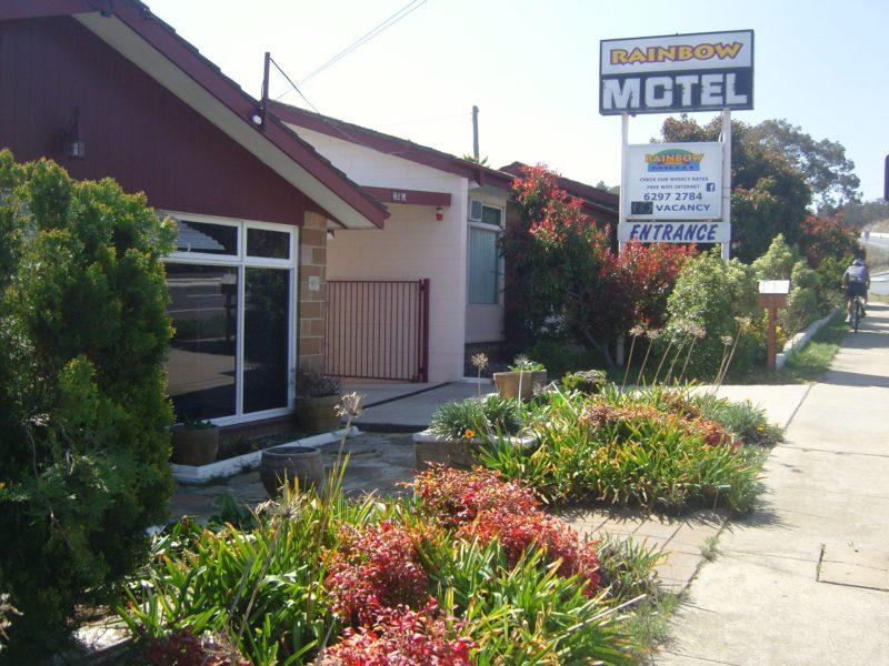 Rainbow Motel entrance