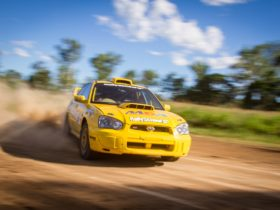 Drive a Subaru Rally car