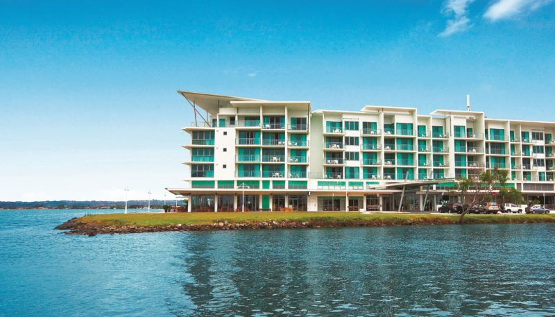 Ramada Hotel and Suites Ballina building view