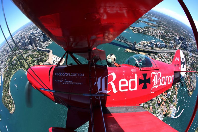 Red Baron Harbour Bridge