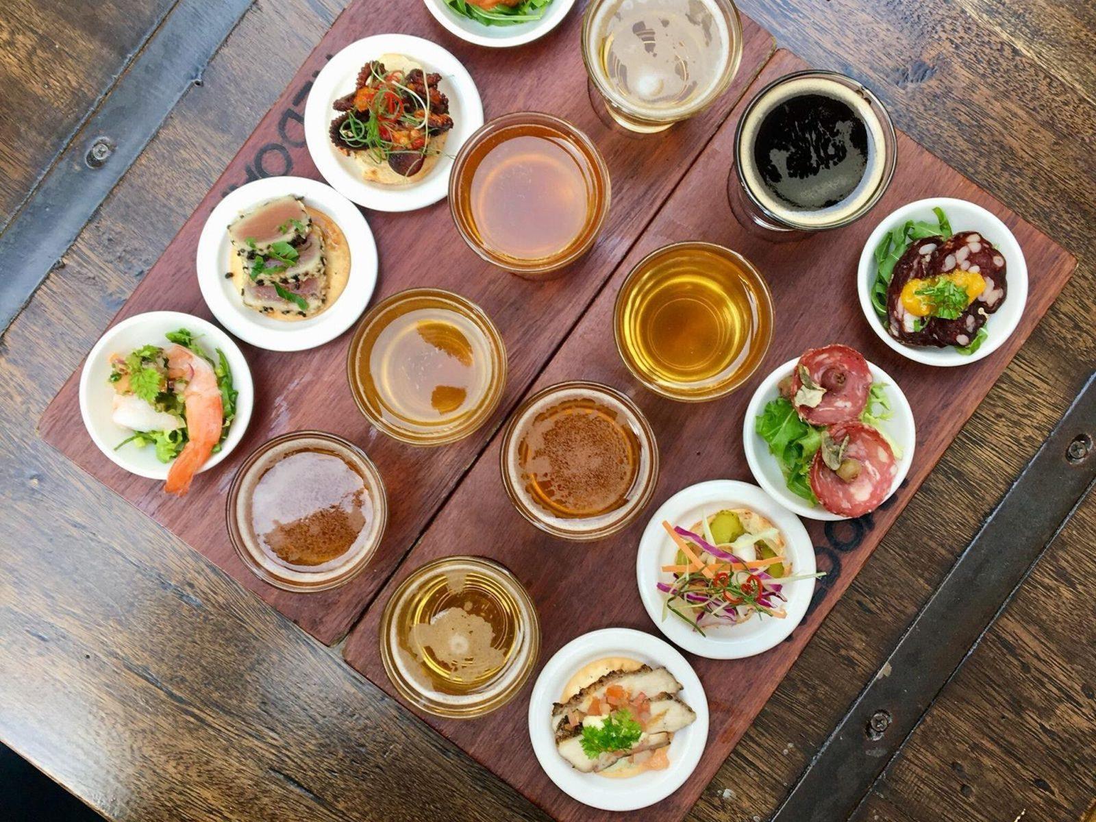 Food and Drinks menu