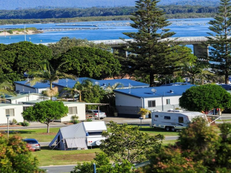 Reflections Holiday Parks Forster Beach Cabins and Caravan Sites