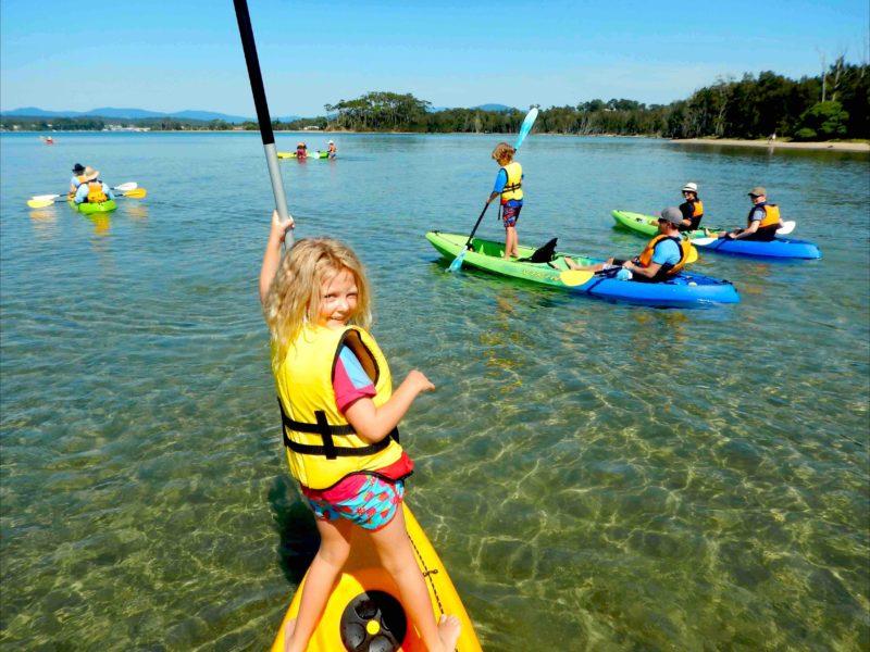 Glass Bottom Kayak Tour
