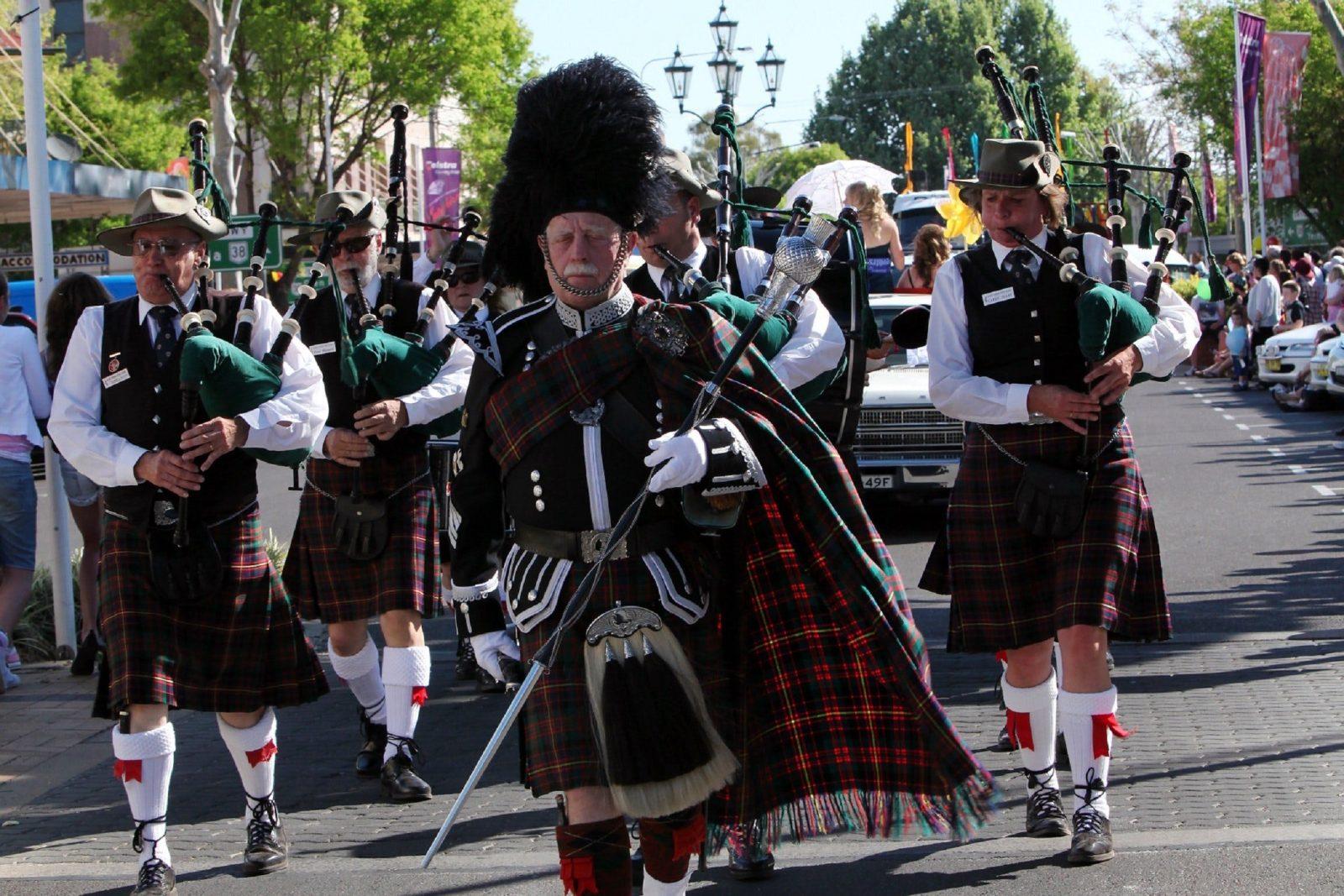 Pipe Bands at Parade