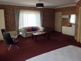 Richmond Motor Inn executive spa room
