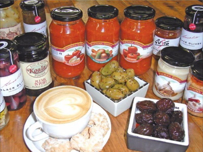 Gourmet produce