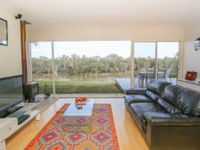 Lounge Room with Murray River Views