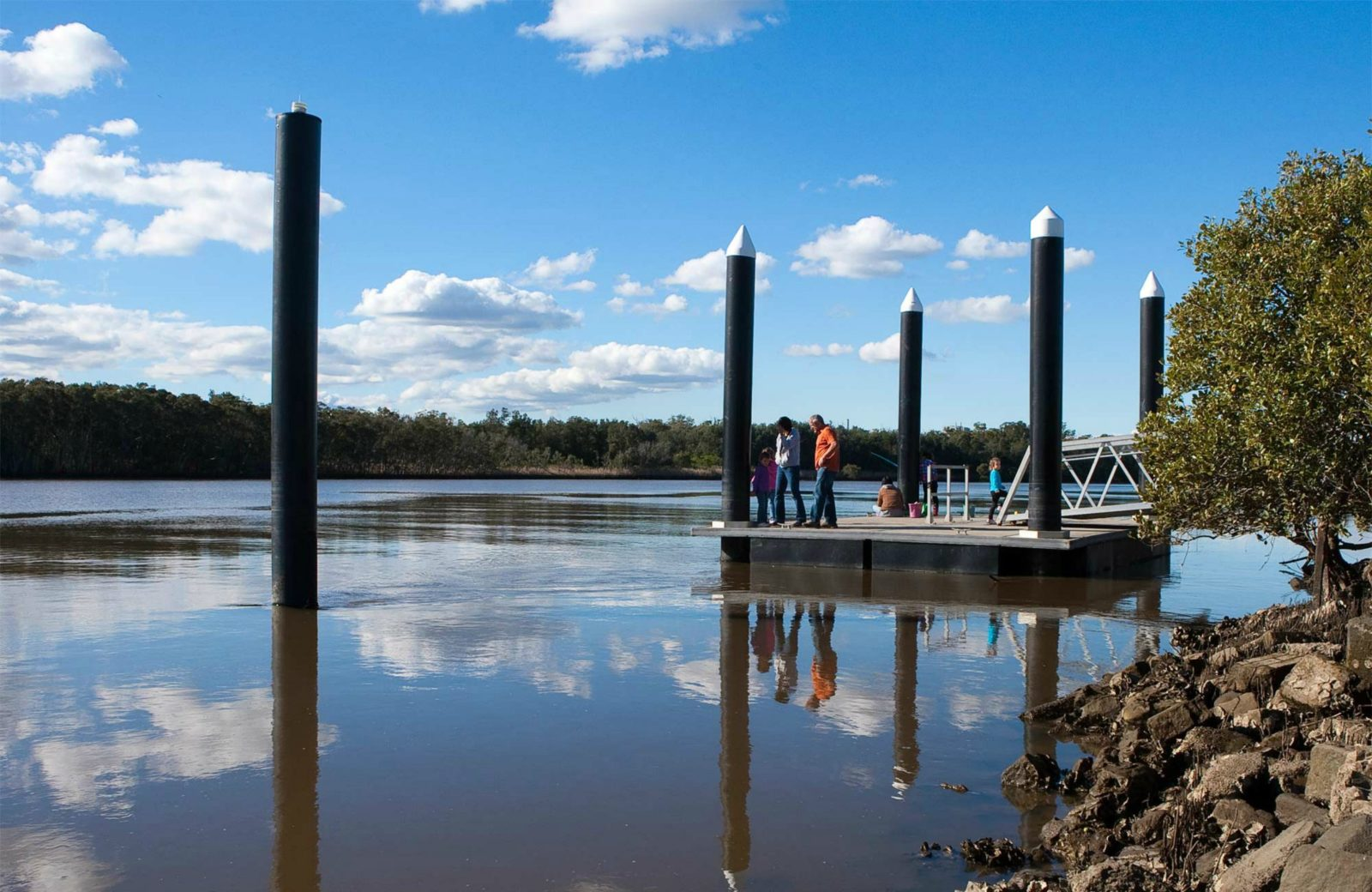 Riverside Park, Hunter Wetlands National Park. Photo: Susan Davis/NSW Government