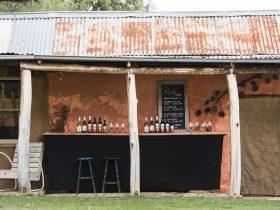 Rosby Wines Cellar Door & Sculpture Garden, Wine selection, Garden setting