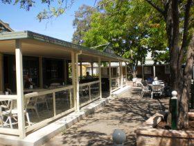 Exterior Rose Garden Coffee House