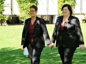 same-sex-wedding-bridal-entrance