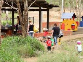 Rouse Hill picnic area and playground