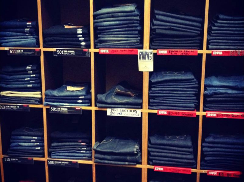 Jeans all stocked up for winter