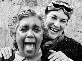 Roxanne McDonald and Barbara Lowing