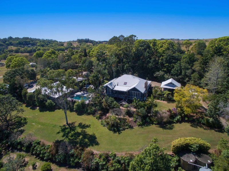 Rutherford House - Byron Bay - Aerial Image of Front of House