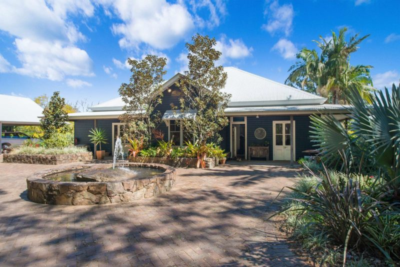 Rutherford House - Byron Bay - Entrance