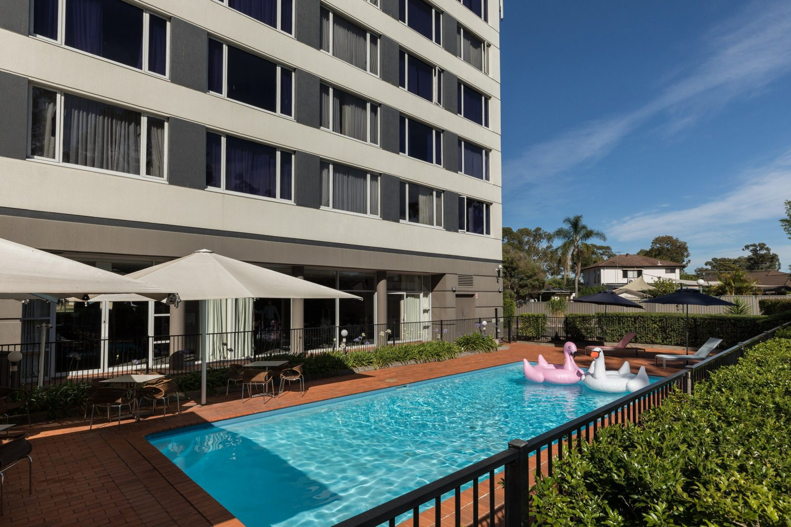Rydges Bankstown outdoor pool