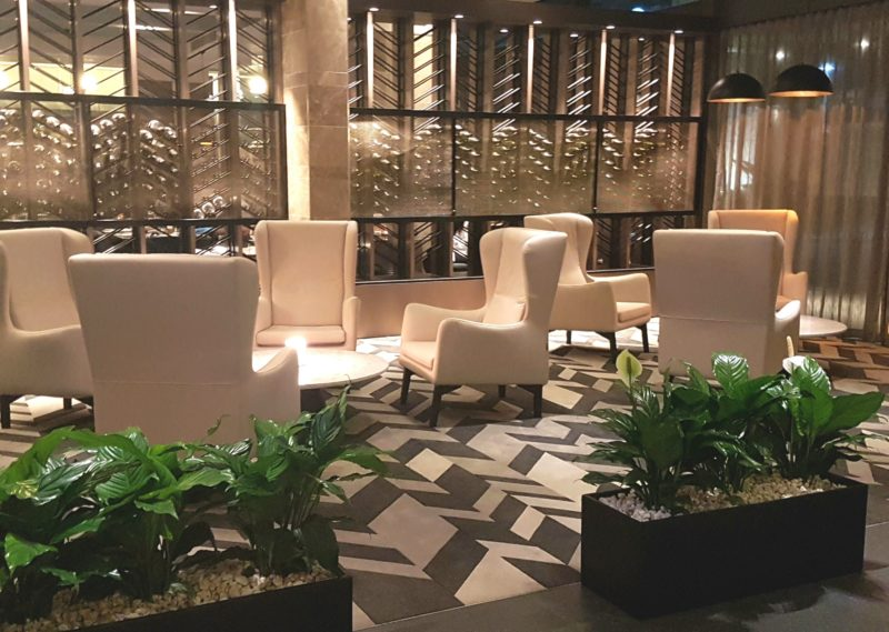 Lounge area within Lobby