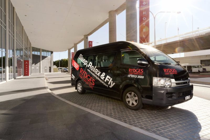 Rydges Airport Shuttle Bus