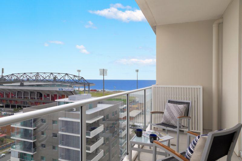 Sage Hotel Wollongong View to Win Stadium