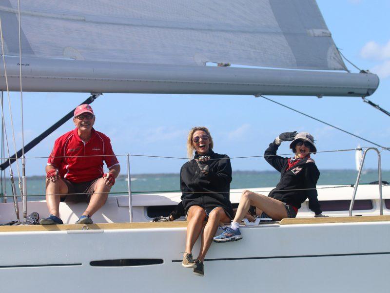 Sail Port Stephens crew