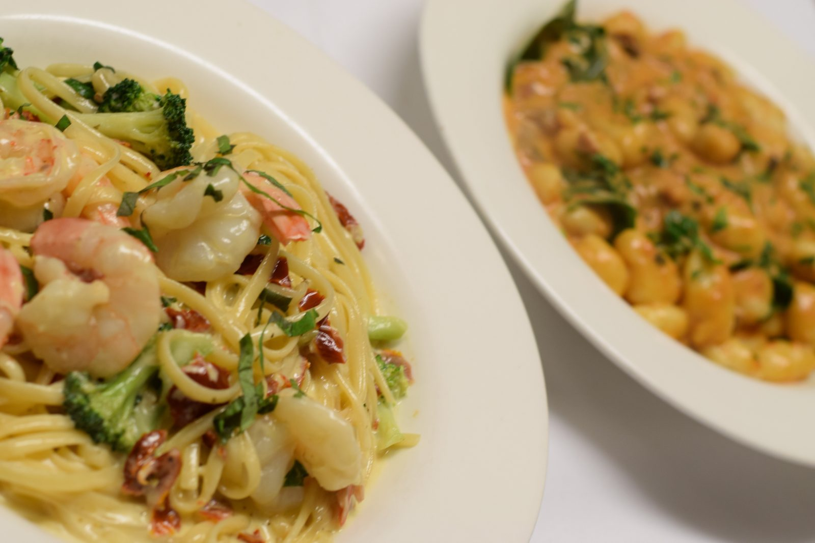 Salina Restaurant pasta dishes