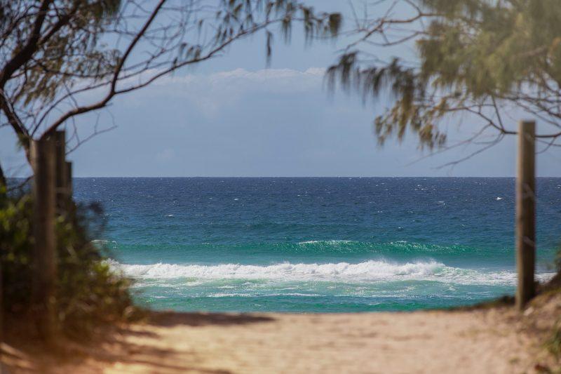 Pristine Salt Beach