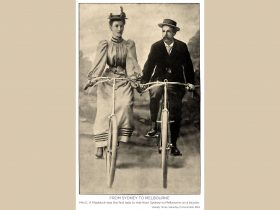 Sarah Maddock Sydney to Melbourne 125 Year Commemorative Cycling Tour