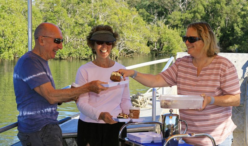 Scenic eco cruise - coffee, cake and culture