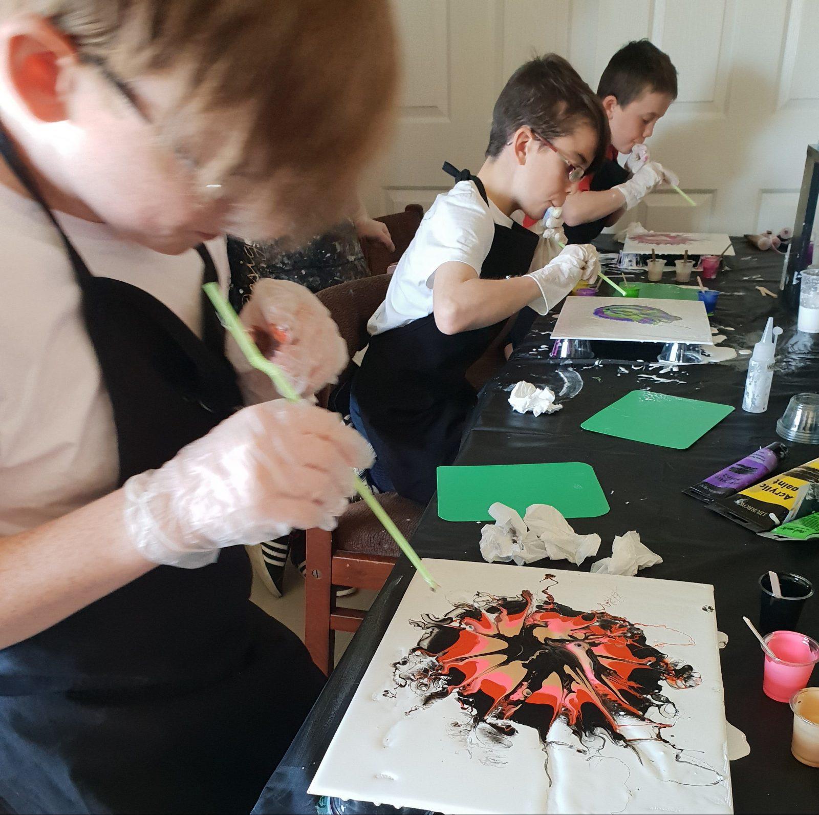 De Lew Designs kids art class wagga
