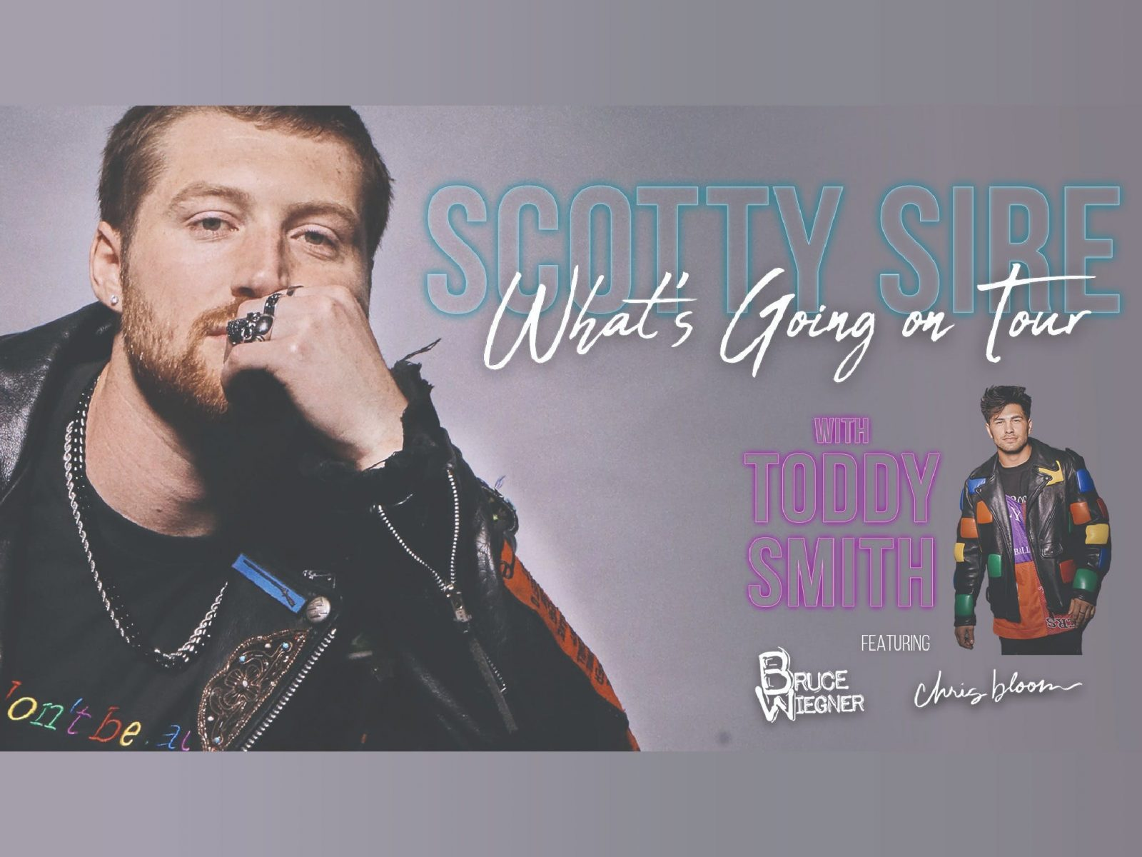 Scotty Sire - What's Going On Tour (with Toddy Smith)